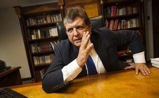 Alan García pide derogar Ley Pulpín para apagar foco de tensión