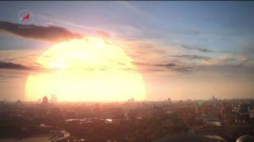 YouTube: así sería el cielo si la Tierra orbitara otra estrella