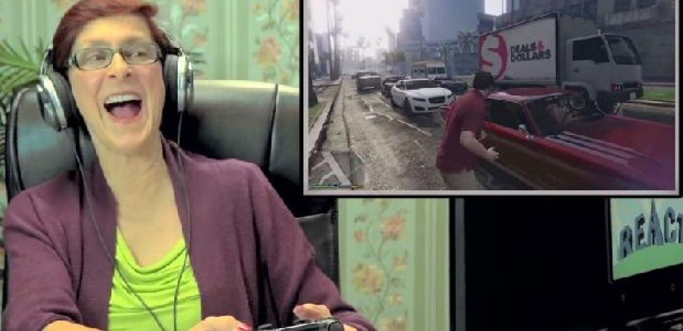 YouTube: Ancianos descubren Grand Theft Auto V