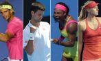 Australian Open: las llaves de los cuadros masculino y femenino