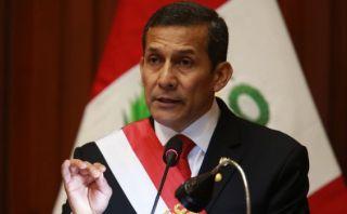 Ollanta Humala no se pronunció sobre alza del sueldo mínimo