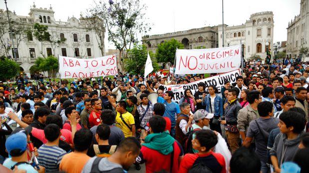 Marcha contra 'ley pulpín' se adelanta y será el lunes 26