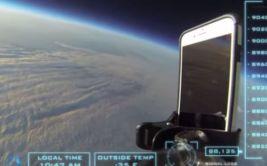 YouTube: así queda un iPhone 6 al caer desde estratósfera