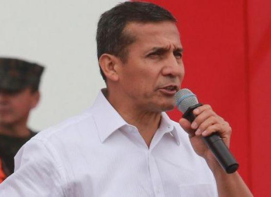 """Humala en alusión a Belaunde:""""Nadie está por encima de la ley"""""""