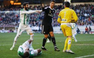 Cristiano Ronaldo: ¿Qué dijo luego de agredir a Edimar?
