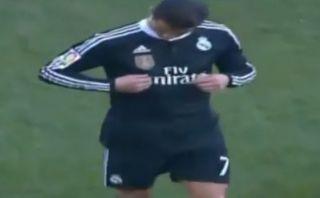 Cristiano Ronaldo tuvo este gesto ante los hinchas del Córdoba