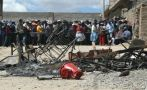 Trasladan los cuerpos de policías muertos en Ocuviri