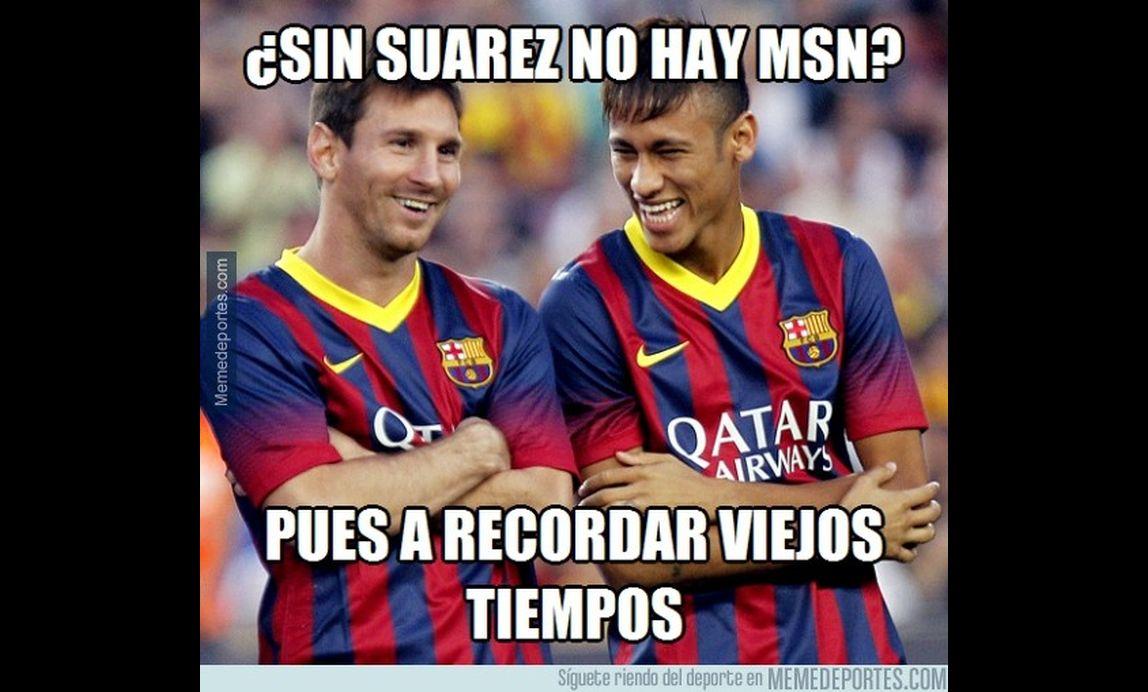 Barcelona messi neymar y los memes tras la goleada al for Oficinas bbva elche