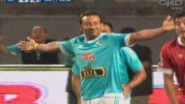 Sporting Cristal vs. LDU: el golazo de chalaca de Sergio Blanco