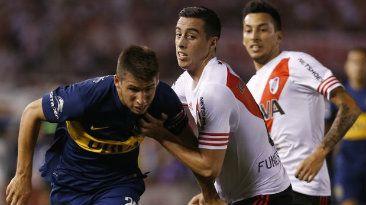 Boca le ganó 1-0 a River Plate en el primer clásico del año