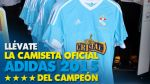 Gánate la camiseta oficial adidas 2015 del campeón peruano - Noticias de sporting cristal