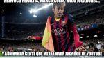 Barcelona, Messi, Neymar y los memes tras la goleada al Elche - Noticias de neymar en barcelona