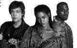 Rihanna, Kanye West y Paul McCartney se unen en este nuevo tema