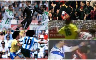 CR7 y otros: cuando los cracks del fútbol pierden los papeles