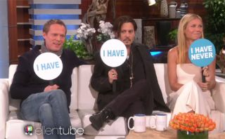 """Johnny Depp jugó """"Yo nunca"""" y dejó estas curiosas confesiones"""