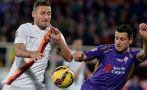 Roma igualó con Fiorentina y se aleja de Juventus en la Serie A