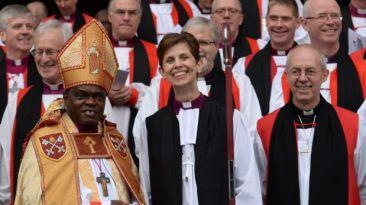 Histórico: la Iglesia anglicana consagró a su primera obispo