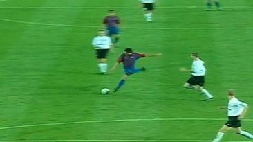 YouTube: Juan Román Riquelme y los goles que anotó en Barcelona