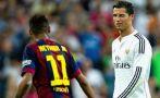 Neymar comprende a Cristiano Ronaldo por agresión y expulsión