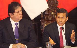 Ollanta Humala calificó de irresponsable a aprista Alan García