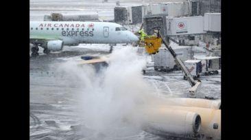 Megatormenta en EE.UU.: más de 2.000 vuelos fueron cancelados