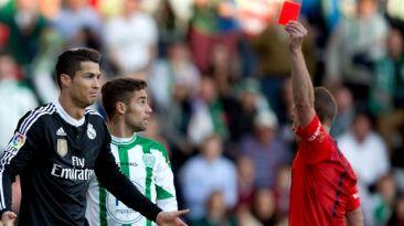 Cristiano Ronaldo descontrolado: 5 expulsiones en Real Madrid