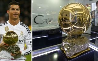 Cristiano Ronaldo: tercer Balón de Oro ya se ve en Museo CR7