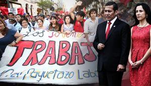 'Ley pulpín': damero de Pizarro y Abancay cerrados por marcha