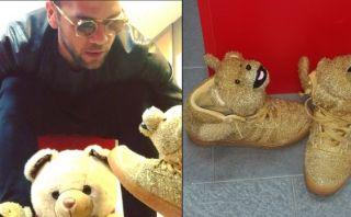 Dani Alves publicó video en el que habla ¡con sus zapatos!