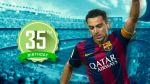 Xavi cumple hoy 35 años y Barcelona publicó su mejor gol - Noticias de xavi hernández