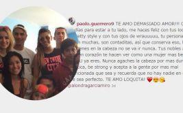 Instagram: Paolo Guerrero comparte tierno mensaje para Alondra