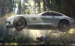 Super Bowl: Mercedes-Benz presentó comercial del AMG GT