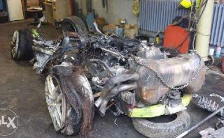Lamborghini Huracán destruido fue puesto a la venta