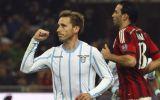 Milan cayó 1-0 ante Lazio y se despidió de la Copa Italia