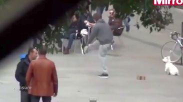 Cristiano: el video con las dominadas que hizo disfrazado