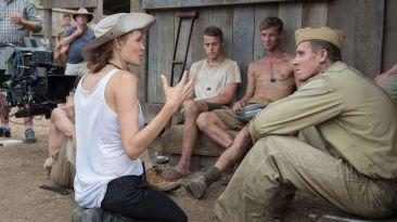 """""""Unbroken"""": el detrás de cámaras del filme de Angelina Jolie"""
