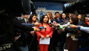 Ana Jara convoca al diálogo a líderes políticos