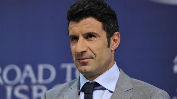 Luis Figo es candidato a la presidencia de la FIFA