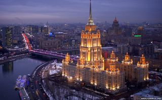Moscú desde el aire: fascinantes imágenes captadas por un dron