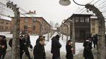 Auschwitz: sobrevivientes volvieron al campo nazi tras 70 años - Noticias de rusia