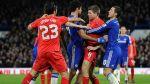 Steven Gerrard y Diego Costa se pelearon en pleno partido - Noticias de wembley