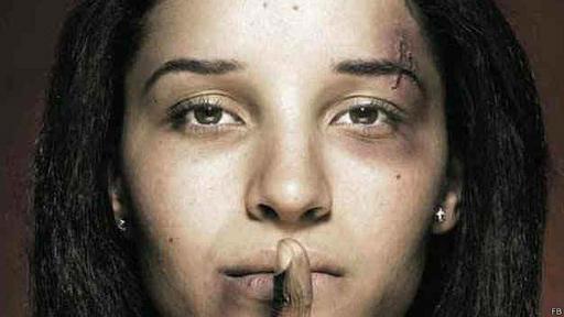 Foto de una campaña alertando sobre la violencia contra las mujeres. Imagen obtenida de la pagina de Facebook de la concejal de Quito Carla Cevallos.