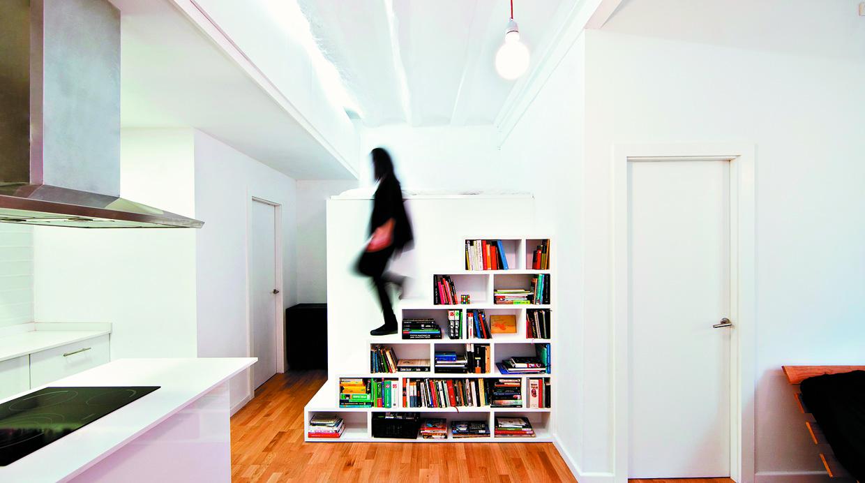 conecta los niveles de tu casa con escaleras para poco