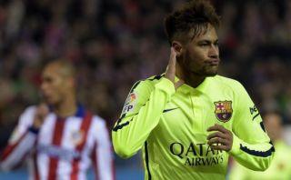 Neymar concluyó con golazo un genial contragolpe del Barcelona