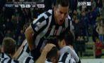 Juventus derrotó 1-0 al Parma y avanzó en la Copa Italia