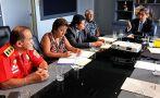 Bomberos y Minsa coordinan garantías en atención de emergencias