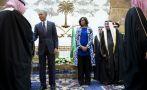 Michelle Obama y el velo que no se puso en Arabia Saudí