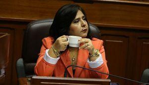 Ana Jara responsabilizó a presunta mafia de reglaje a políticos