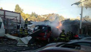 Trujillo: incendio consumió discoteca y afectó otros 2 locales