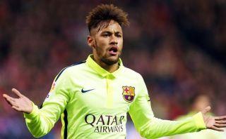 Neymar gana elogios luego de su doblete al Atlético de Madrid
